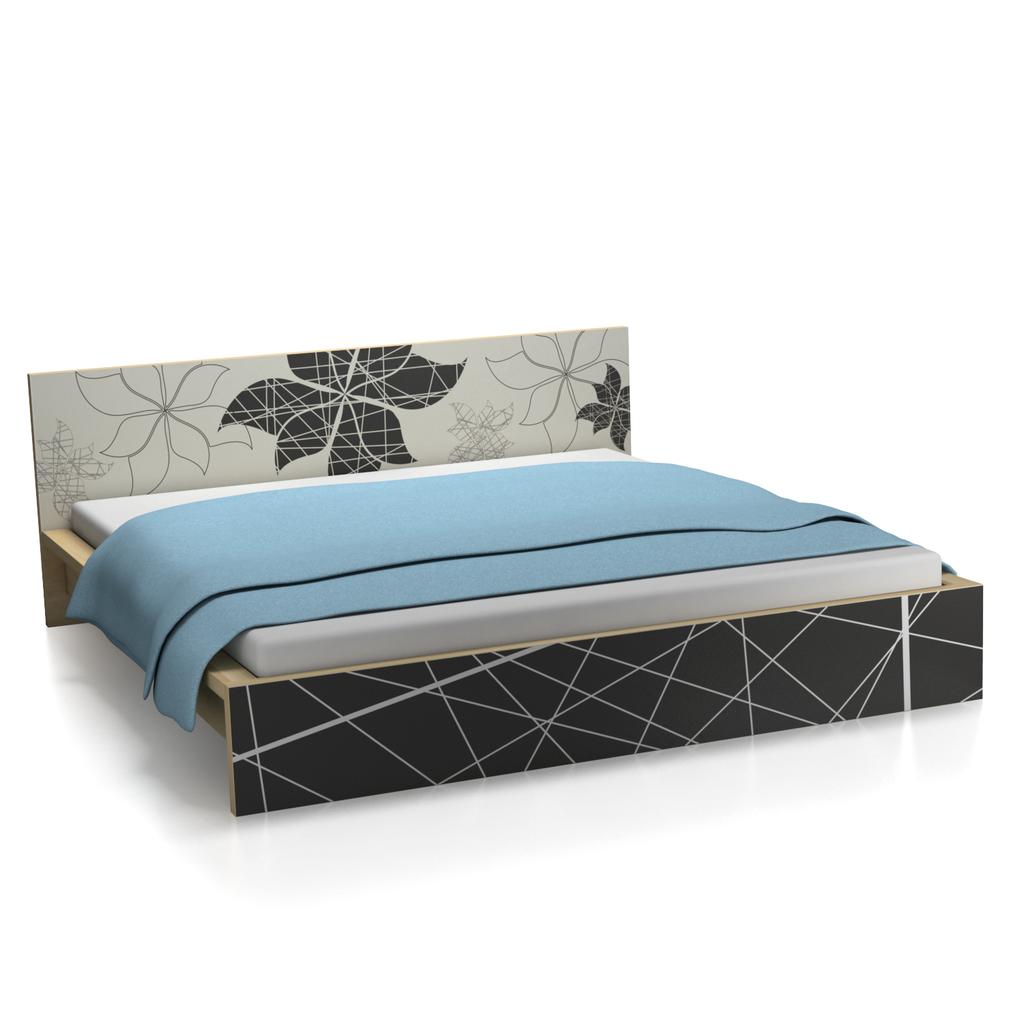 ikea malm bett eiche furnier. Black Bedroom Furniture Sets. Home Design Ideas