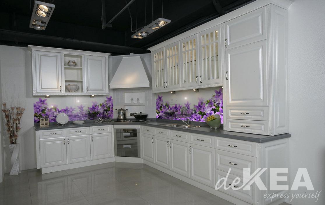 Panele Szklane Do Białe Kuchni Dekea