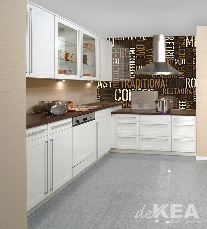 Panele Szklane W Kuchni Motyw Z Kawą Dekea
